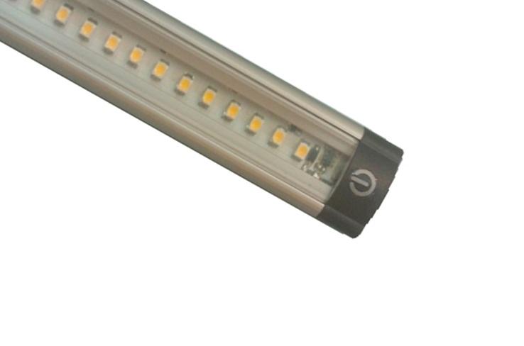 led strip plat type flat lo small 100 cm warm wit 11 watt 12 volt schakelaar