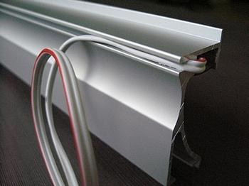 LED Profiel ALU Muur LED Design Verlichting van LEDw@re